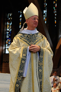 Saint Anselm College celebrated the Mass and Abbatial Blessing of Abbot Mark Cooper