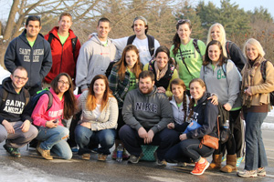 During winter break 76 Saint Anselm College students will participate in service trips all over the United States and abroad.