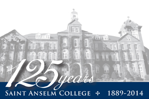 The Saint Anselm College community gathered on Friday, Aug. 1, to mark the beginning of the college's 125th anniversary year