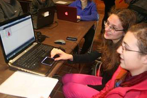 hour of code saint anselm students computer science programming