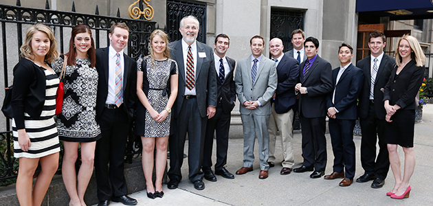 Finance students with faculty visit iconic financial sites in New York City