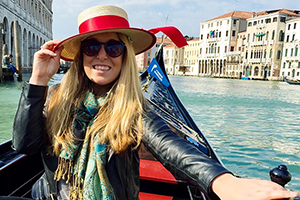 Saint Anselm student Jamie Dulac studied abroad in Italy during the spring 2016 semester
