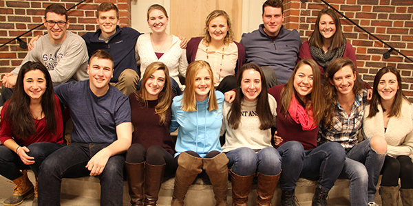Saint Anselm College spring break alternative student-leaders