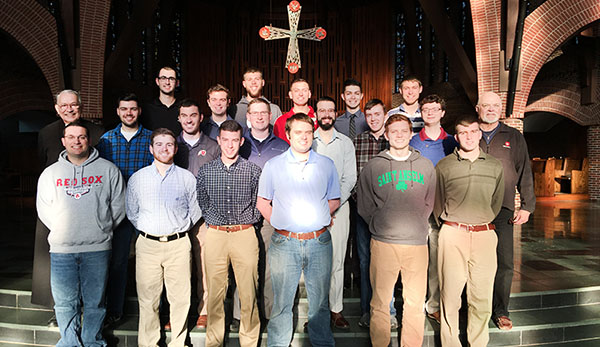 Students, Alumni participate in Annual Holy Week Retreat