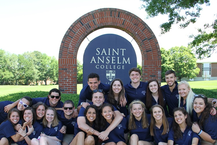 Saint Anselm students
