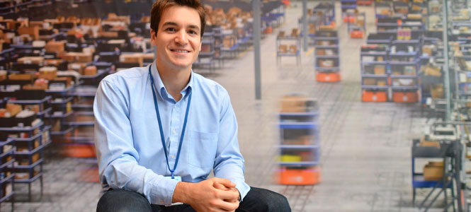 Engineering alumnus Alex Macomber graduated from Saint Anselm and Notre Dame, now he's an electrical engineer