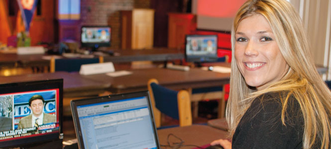 Saint Anselm politics alumna Liz Fanning is now a TV producer for Fox News