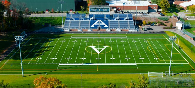 Grappone Stadium on the campus of Saint Anselm College
