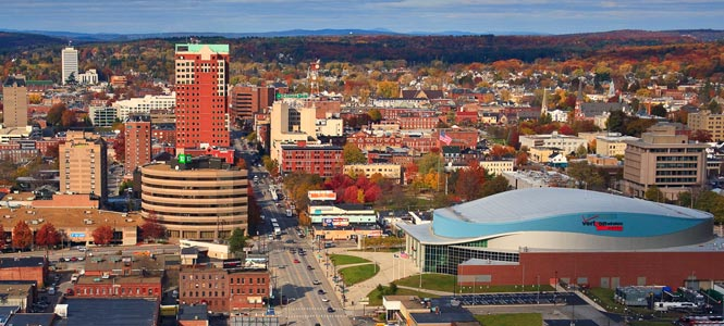 Downtown Manchester, New Hampshire
