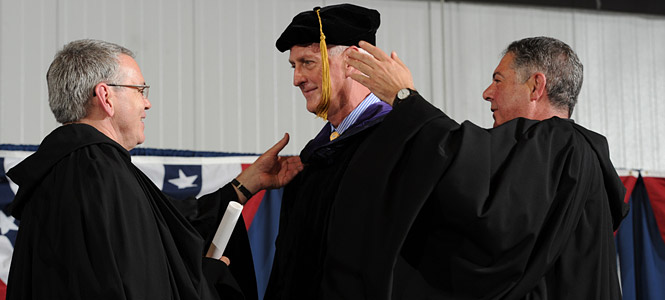Michael Sheehan Receives Honorary Degree
