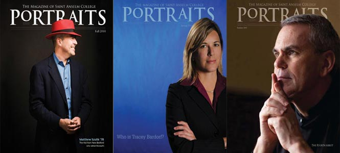 Portraits is the Magazine of Saint Anselm College
